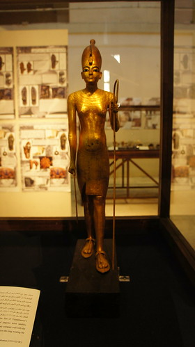Another King Tut's golden statue