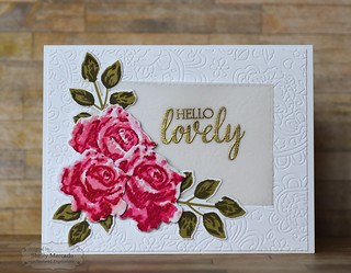 Simply Stamped Roses | by popsicletoes3
