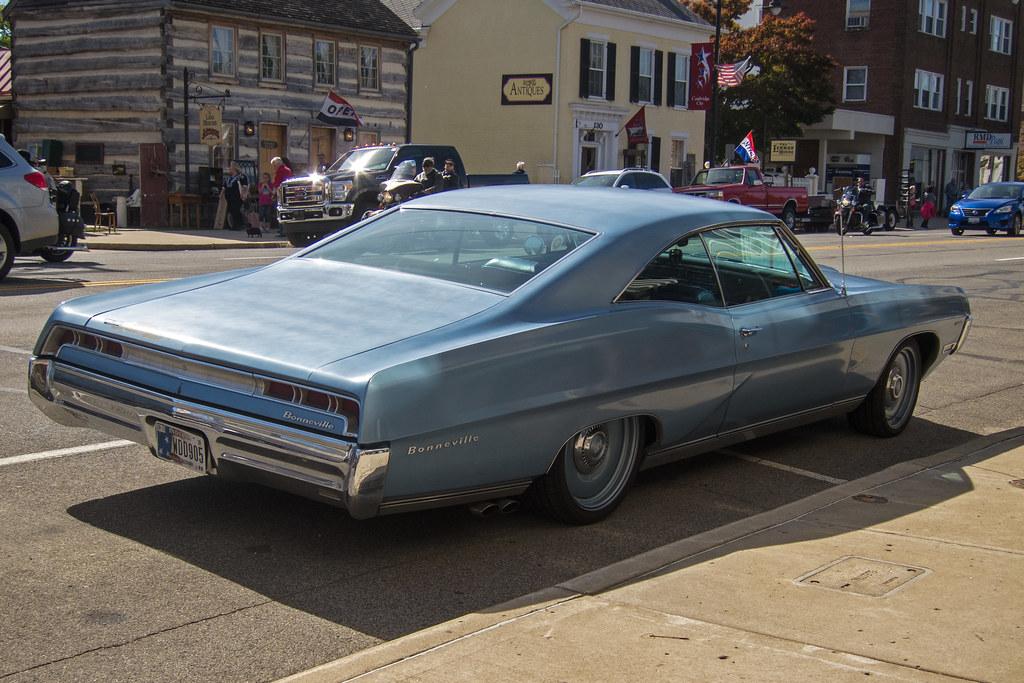1967 Pontiac Bonneville | Spotted in Cambridge City on the N… | Flickr