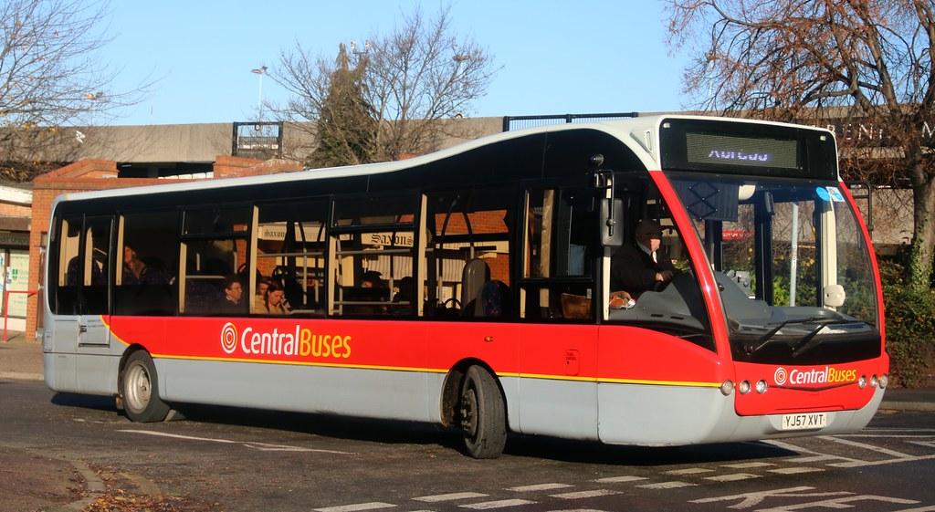 Central Buses Birmingham YJ57XVT leaving Lichfield Bus St Flickr