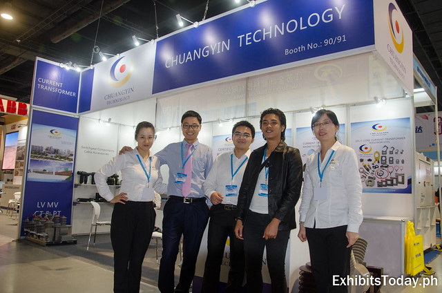 Chuangyin Technology Exhibit Booth