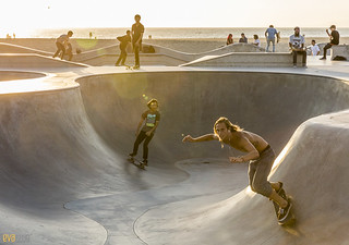 venice beach skateboarding 12 | by Eva Blue