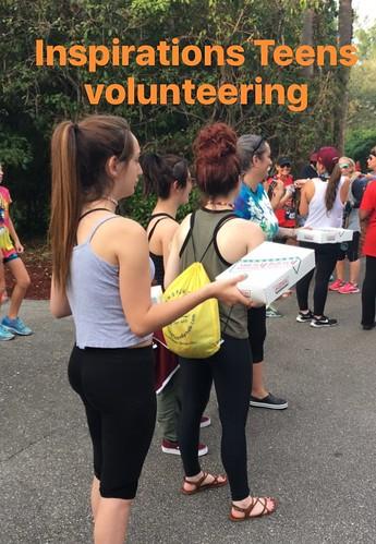 inspirations teens volunteering