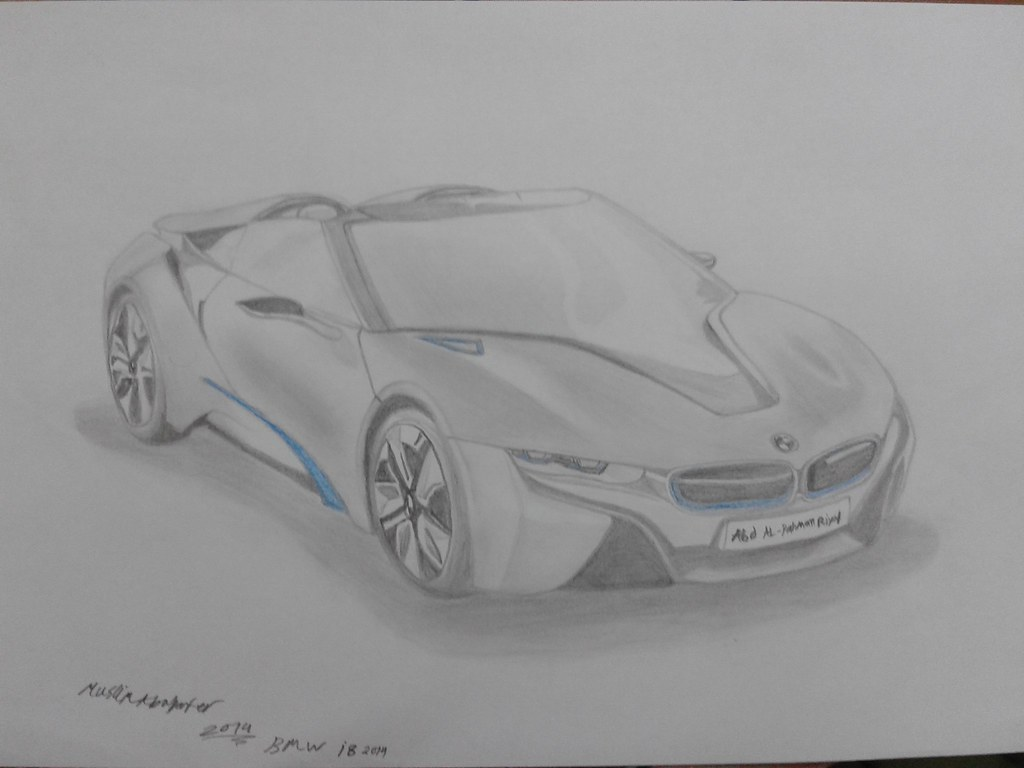 Bmw I8 Drawing Muslim Abu Baker Flickr