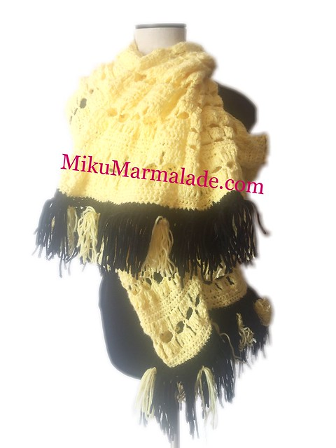 Crochet Scarf by mikumarmalade