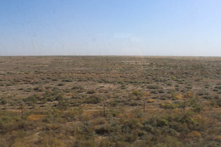Kazakh steppe seen from the train | by Timon91