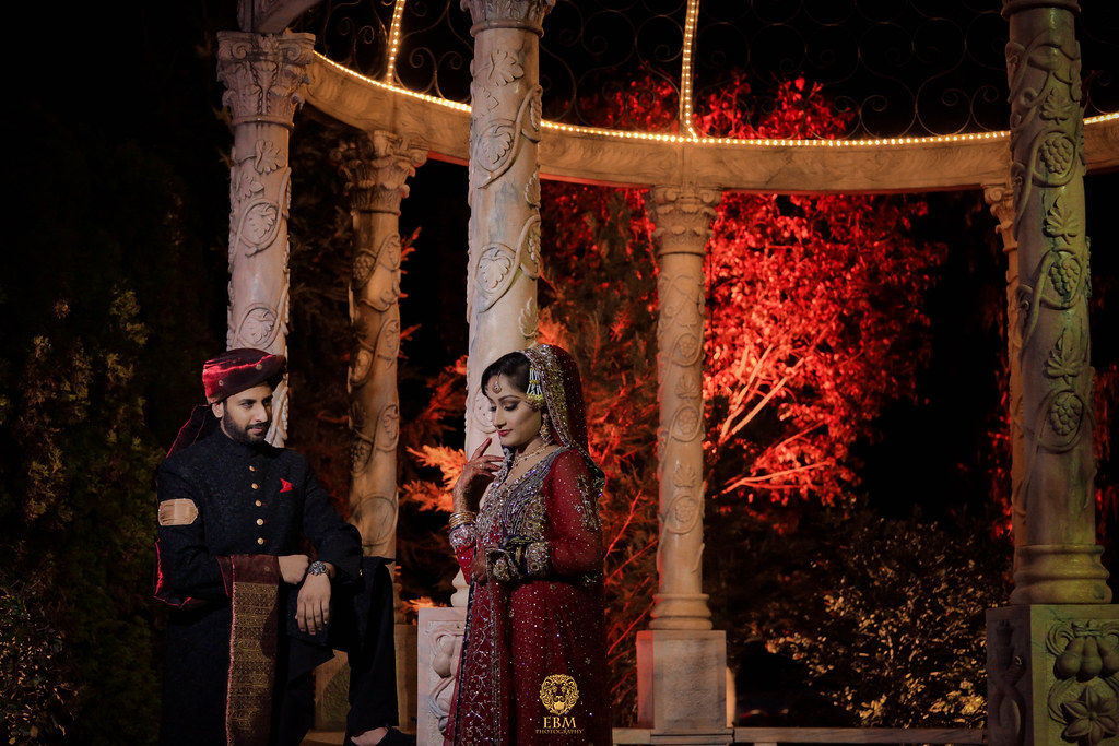 Sadia & Javad Wedding by EBM Studios