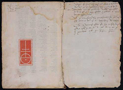 Duns Scotus, Johannes: Quaestiones in quattuor libros Sententiarum Petri Lombardi - Manuscript inscriptions