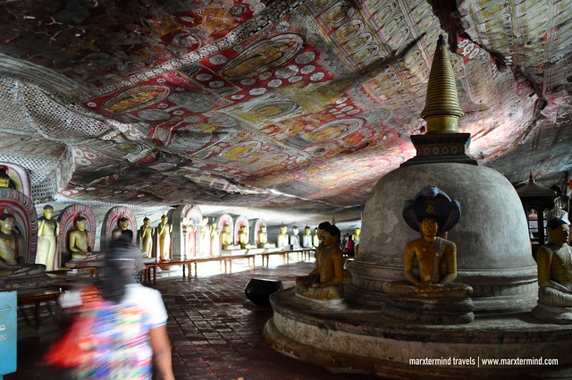Buddha Images and Statues at Dambulla Cave Temple