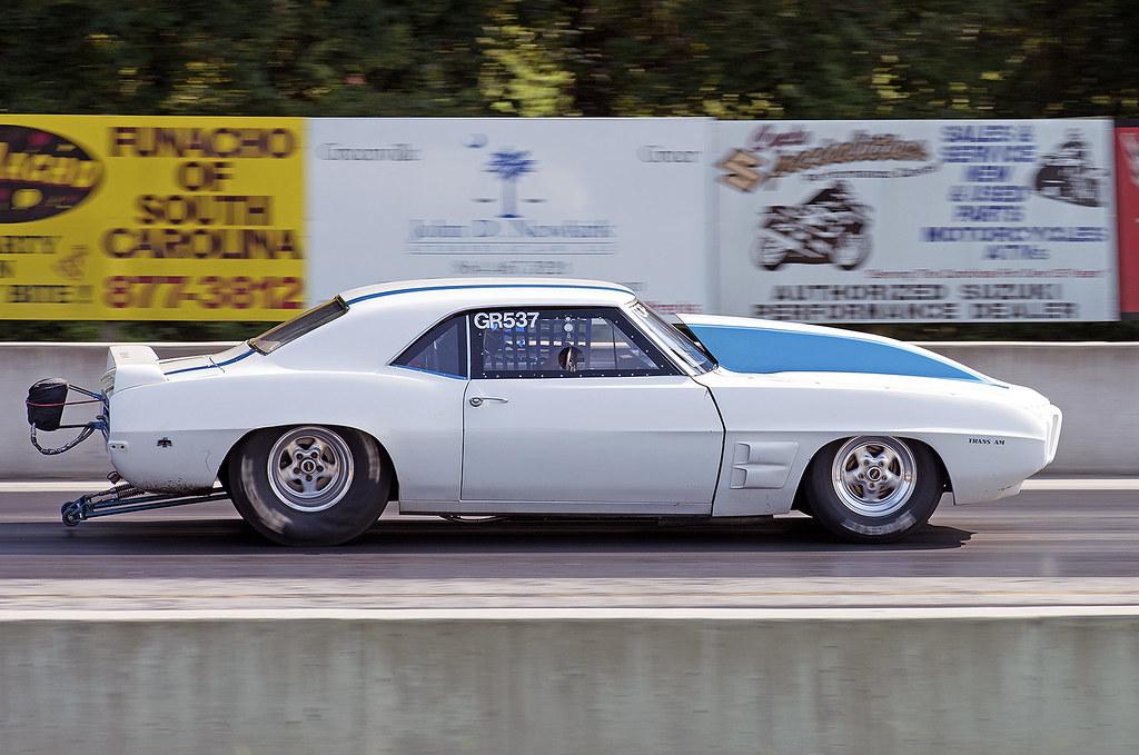 69 Firebird Trans Am drag racing at Greer | At Greer Dragwa… | Flickr