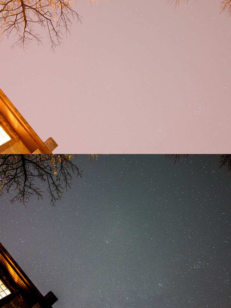Effects of Light Pollution in Urban Areas   I love looking u