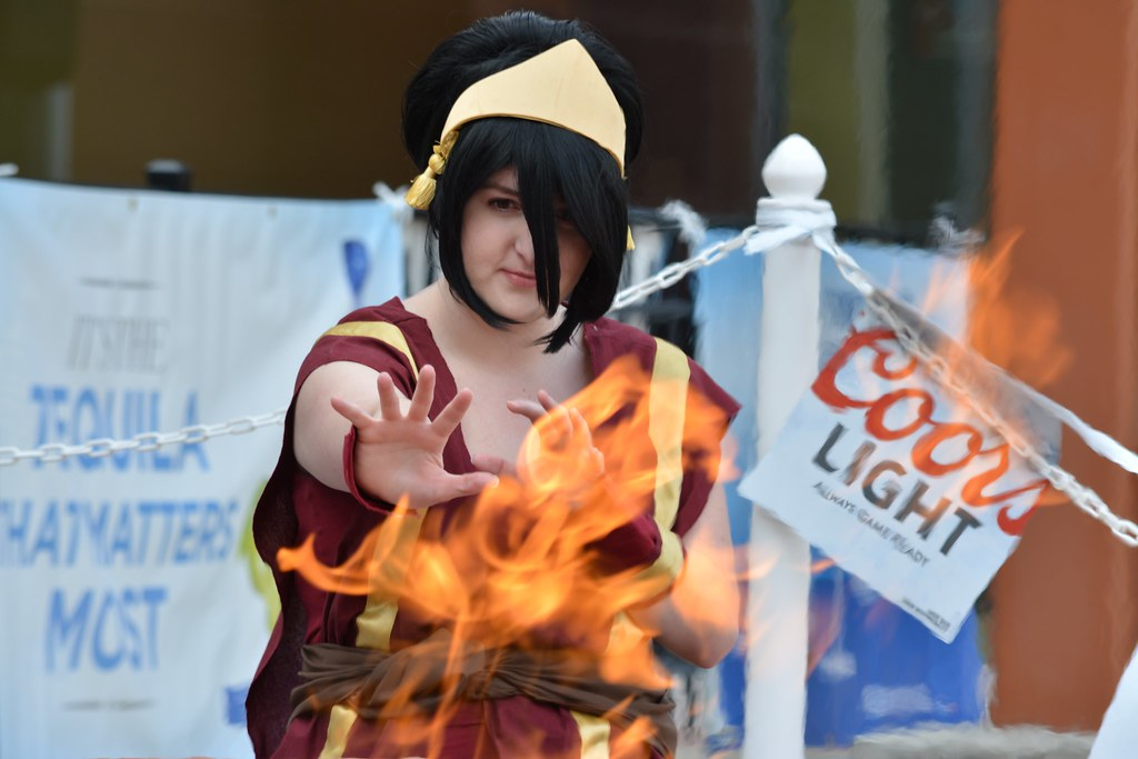 avatar the last airbender toph beifong fire nation dsc flickr