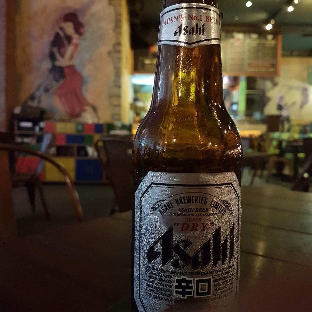 Asahi $18 @ LaBoca Latino Bar KL Pavilion
