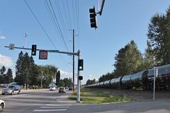 Oil train in Marysville