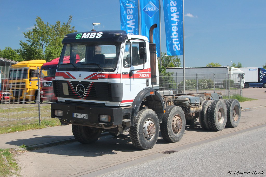 ... Mercedes SK 3538 Poland | by Marco´s Truckpictures