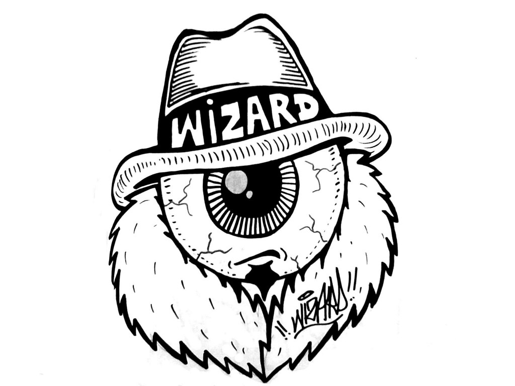 Wizards Stickers One Eye Graffiti Character By Wizards Stickers