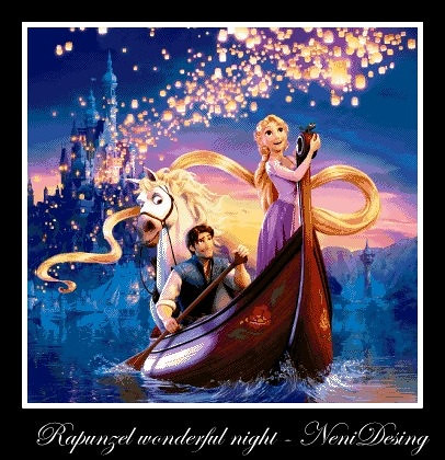 Rapunzel Wonderful Night