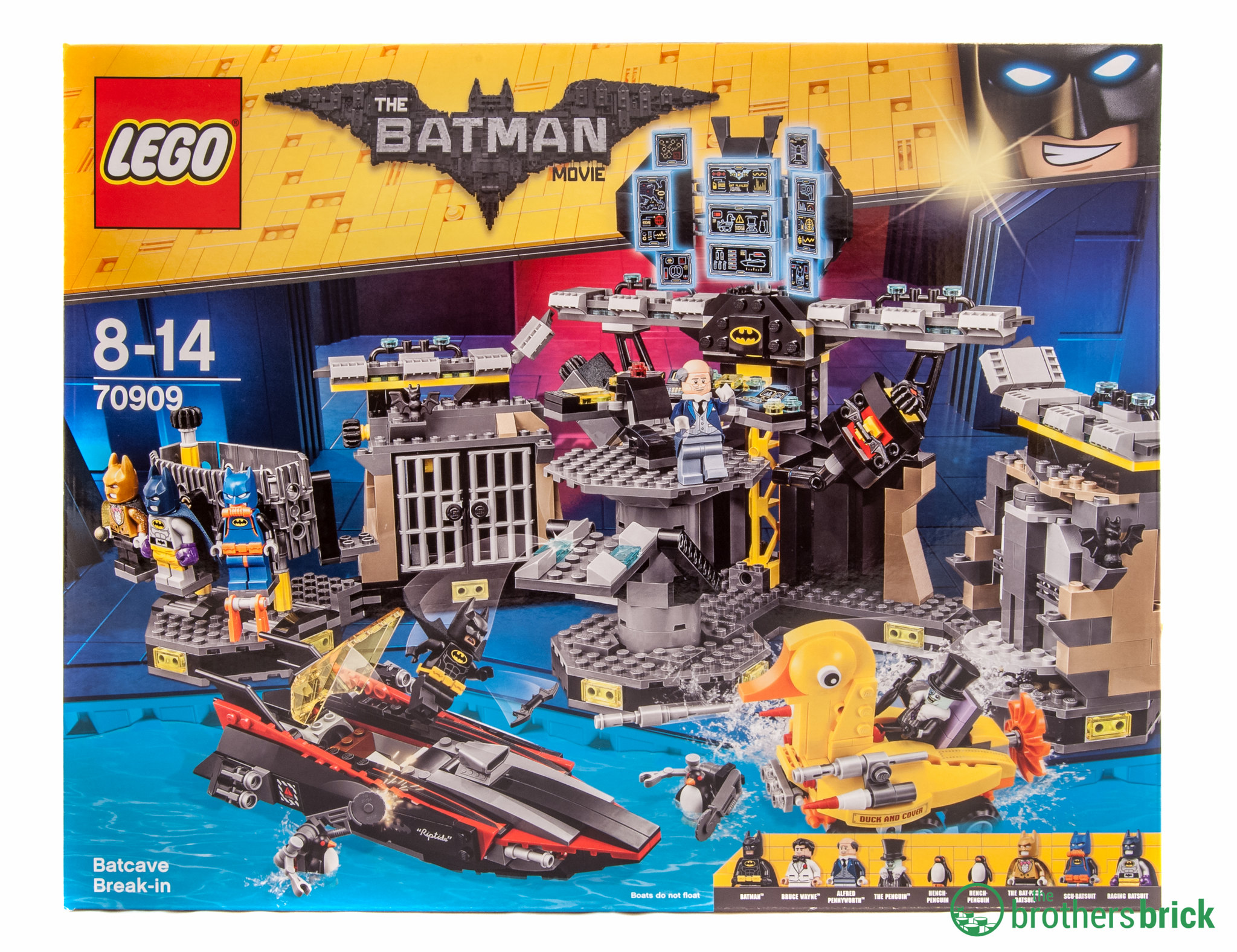 LEGO Batman Movie 70909 Batcave Break-in Review | The ...