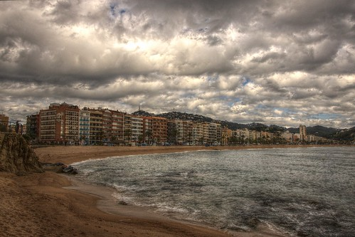 Lloret de Mar - the apartment blocks