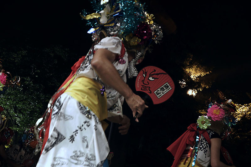 靖国神社の御霊祭り 青森ねぶたの奉納