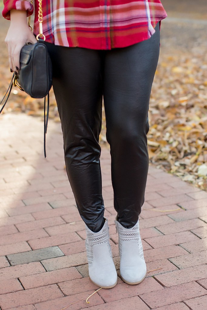 Head to Toe Chic-@akeeleywhite-Faux Leather Leggings