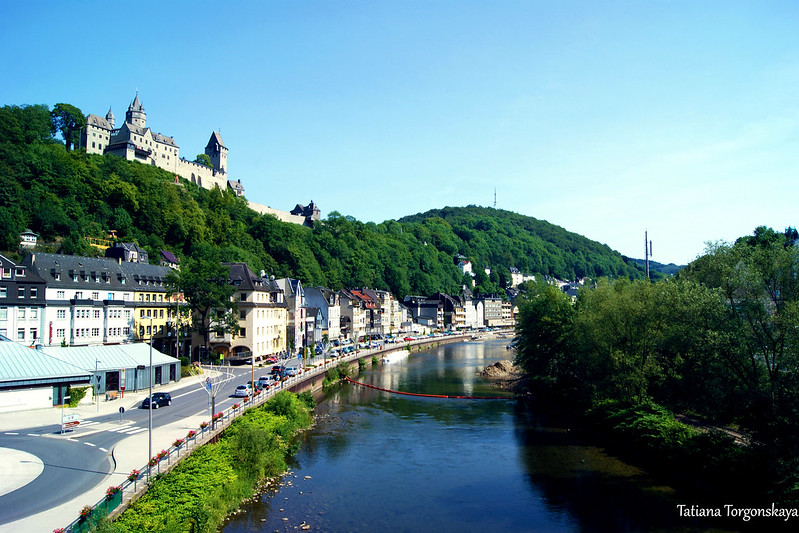 Река Ленне, город и крепость