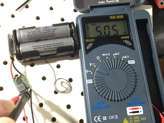 Adjusting the output voltage | by Christopher Biggs