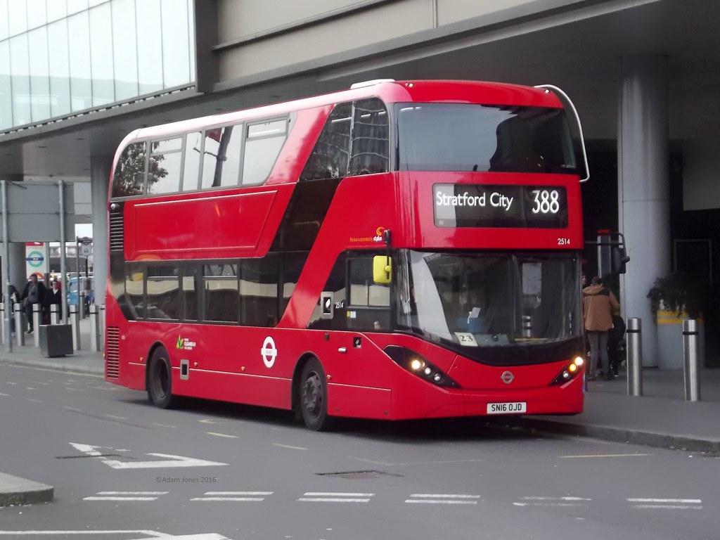 ... CT Plus ADL Enviro400MMC City SN16OJD (2514) Stratford City Bus Station  19/11