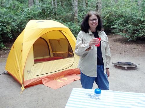 Scenic Beach Camping