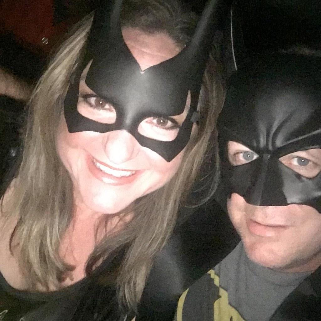 Halloween ???????? #batman #batgirl #trickortreat #husbandand… | Flickr