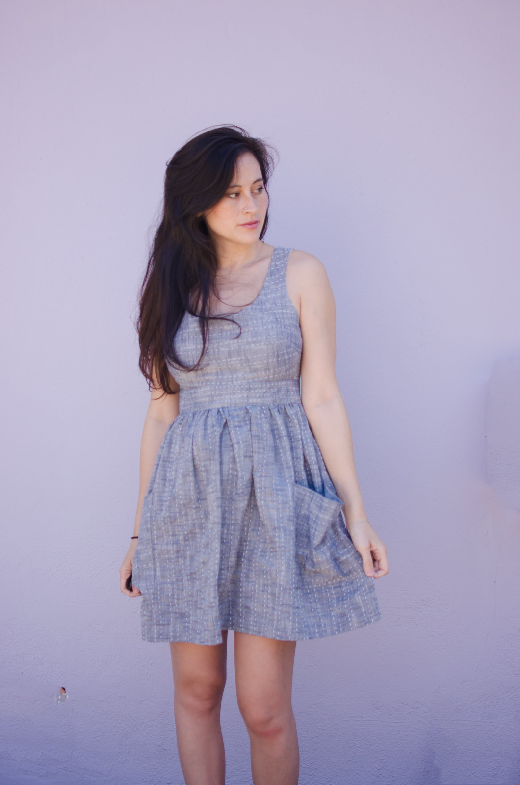 Sashiko dress