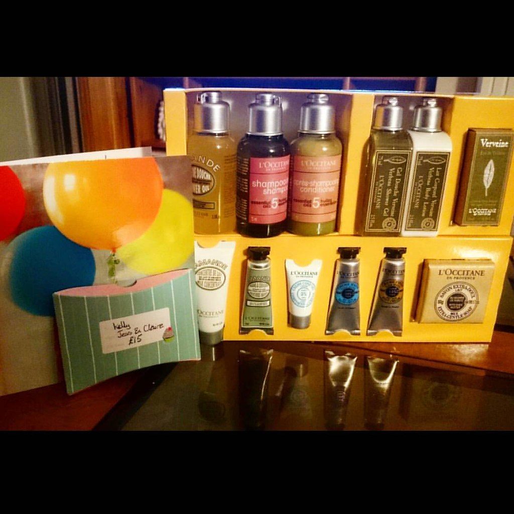 Beautiful Birthday Presents Off My Sisters In Law To Be 3 Loccitane