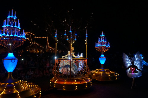 Cinderella in the Paint the Night Parade | by Disney, Indiana