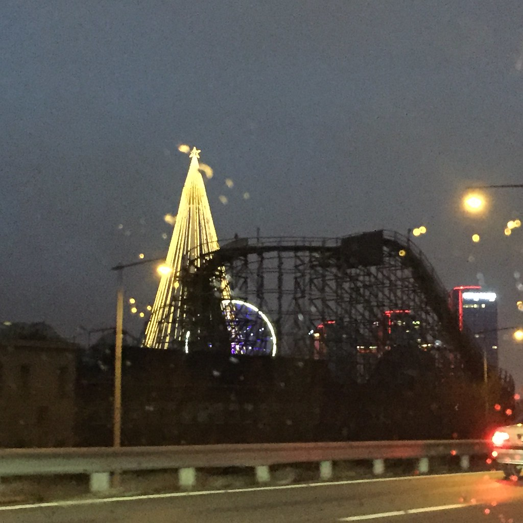 Göteborg Lisberg julbelysning