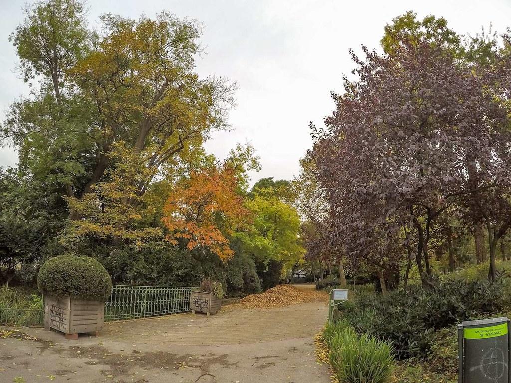 Path in Stadtpark, Vienna