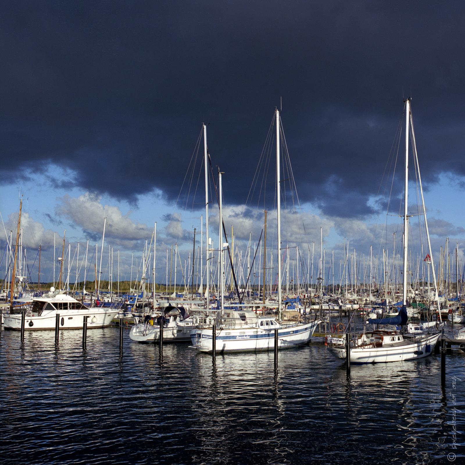 Dark Sky Sailing Ships