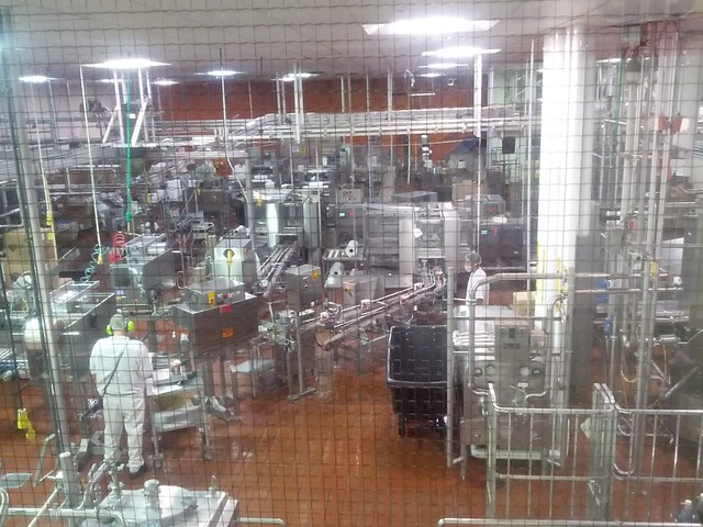 LABS 2013 Industrial Tour of Thrifty Ice Cream Plant