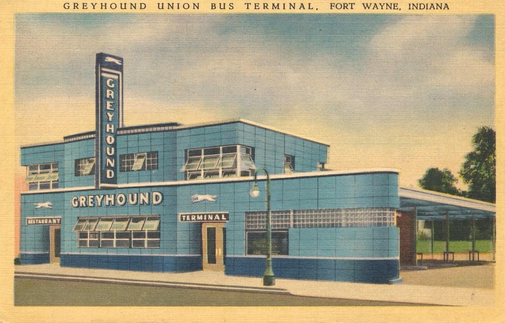 Greyhound Union Bus Terminal - Fort Wayne, Indiana | Flickr