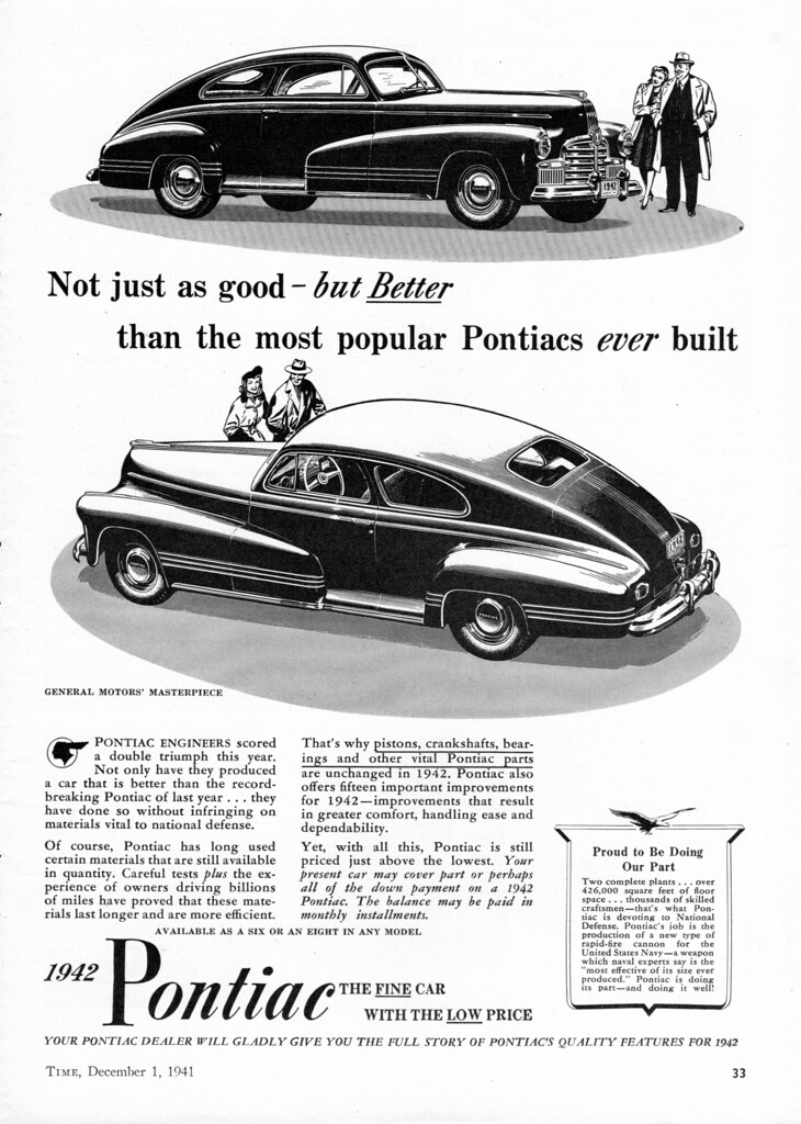 1942 pontiac streamliner sedan coupe alden jewell flickr 1945 Pontiac Coupe 1942 pontiac streamliner sedan coupe by aldenjewell