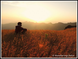 Sunrise at Rajgad Fort | by wanderingjatin