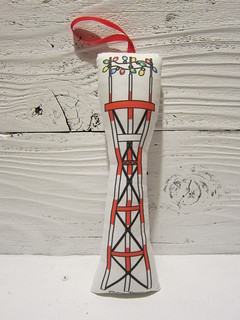 Sutro Tower Christmas Ornament | by Katy Kristin