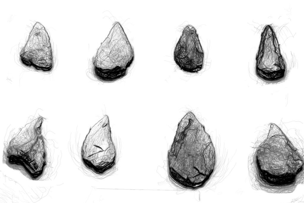 puntas del paleolítico ibérico