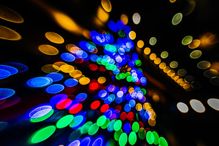 Christmas Tree out of focus | by aotaro