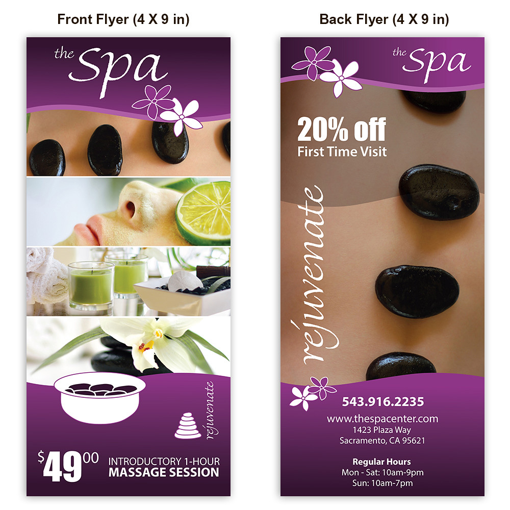 Spa Massage Flyer Template For Purchase Only Essentialst Flickr