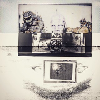 Diana f+ instant + Epson scan + photoshop + layout app = #occult #toyphotography | by Irving Paul Pereira