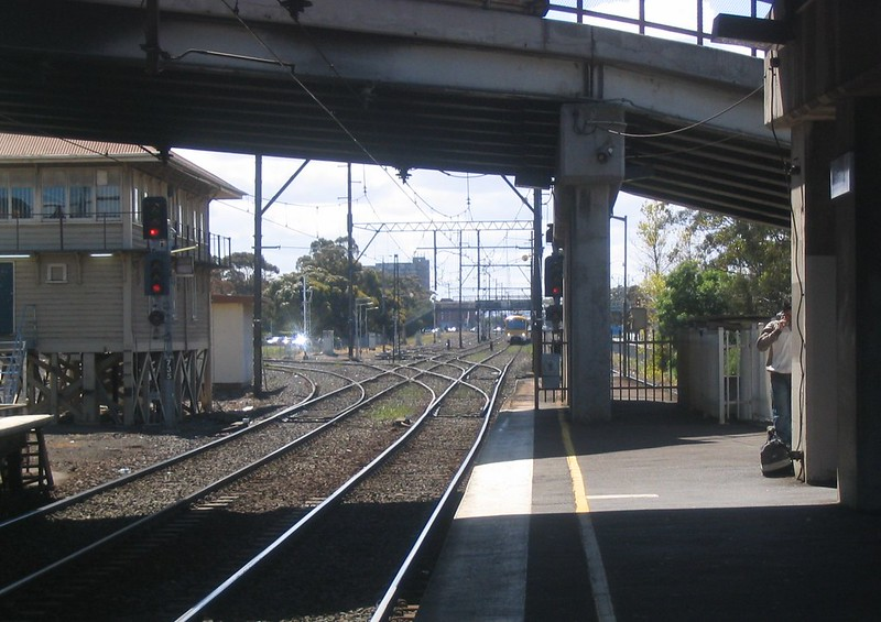 Sunshine station, October 2006