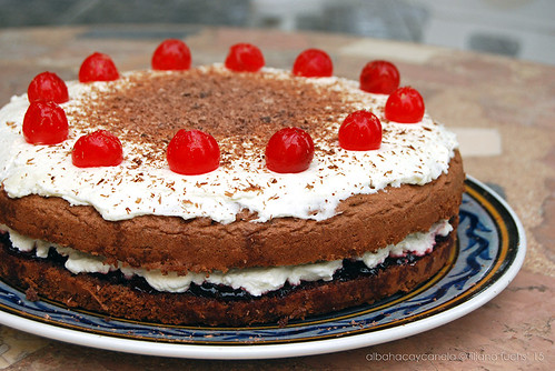 Cherry Cake Chocolate