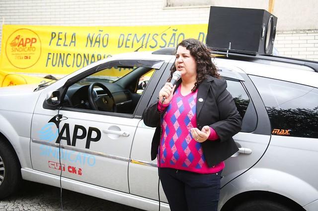 Servidores(as) cobram dívidas com o funcionalismo público em ato na Sefa