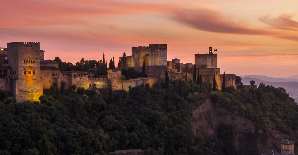 The Alhambra - Fortress Complex And A Palace