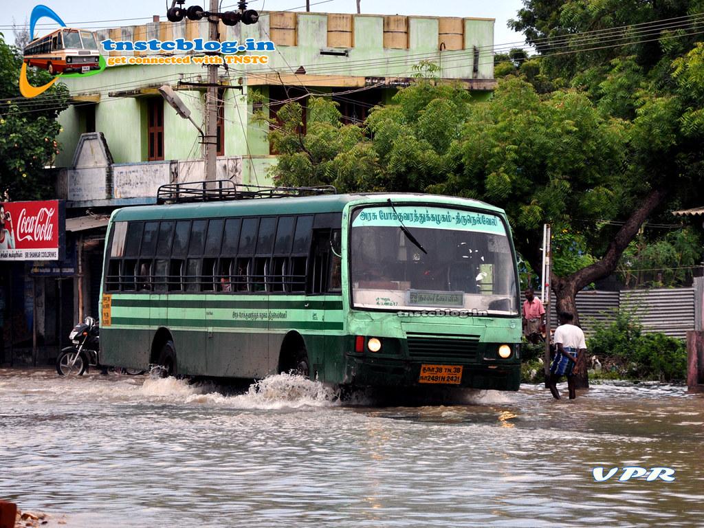 TN38N.2491 Of Tnstc Nellai Nagercoil Region Route 570  Nagercoil-Tiruchendur-Tuty